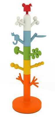 Paradise Tree Coat stand - Modular Multicoloured by Magis Collection Me Too - Design furniture and decoration with Made in Design