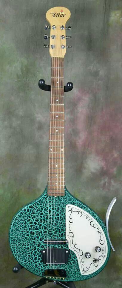 Jerry Jones Baby Sitar - a junior version of the Coral sitar