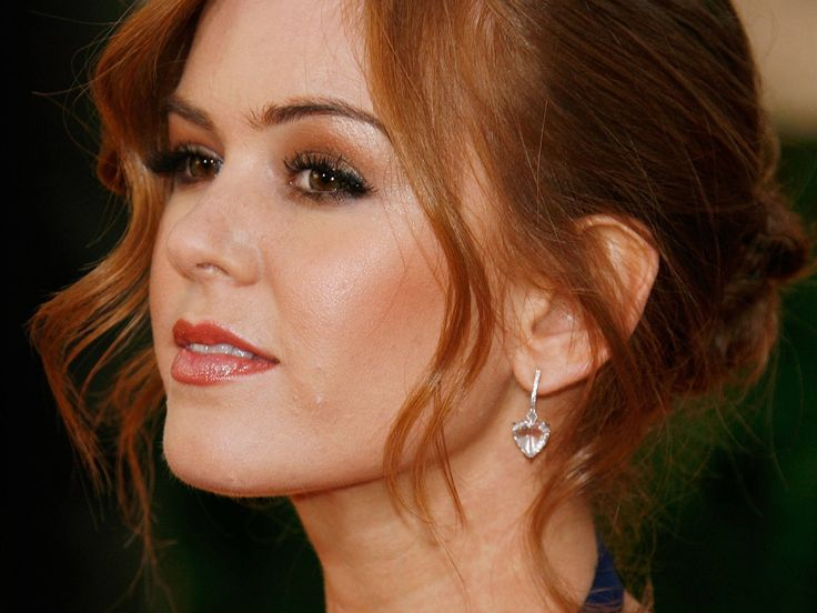 Isla Fisher - played roles in movies like Now You See Me, Confessions of a Shopaholic, Wedding Crashers and the Bachelorette. Voice of characters in animated films Rango, Rise of the Guardians & Horton Hears a Who! Love her hair and her smile