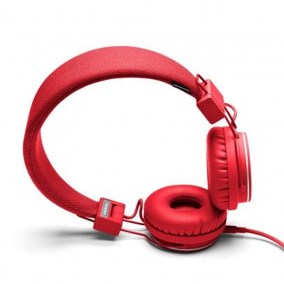 Urbanears Plattan headphones - Red `One size Fabrics : Leather, Plastic, Leather, Plastic * Details : foldable, Semi-open, Supra-aural, Microphone and remote control * Color : Red * Base 3,5 mm mini stereo jack on an earpiece with possibility to http://www.MightGet.com/january-2017-13/urbanears-plattan-headphones--red-one-size.asp