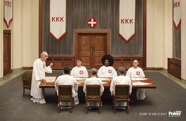 France 2008 Advertising Agency: DDB Paris Creative Directors: Alexandre Hervé, Sylvain Thirache Ad: Become the King of bluff.