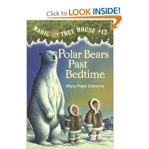 11 best calebs chapter book reading images on pinterest tree polar bears past bedtime magic tree house no 12 fandeluxe Choice Image