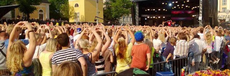 Love is in the air in Tampere, YleXPop 2013, Keskustori #Tampere