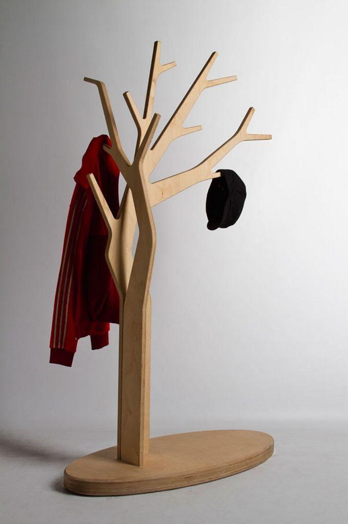 Hat Coat Tree