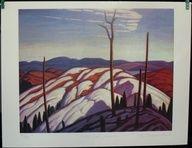 Group Of Seven Ltd Art Print - First Snow, Algoma - LAWREN HARRIS |  $29.99