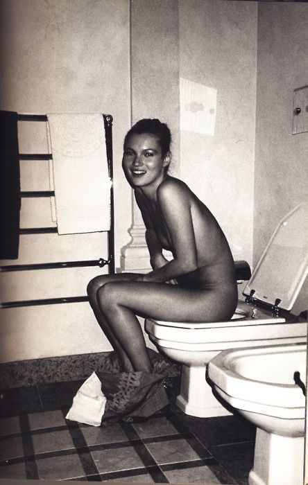 Confirm. And Kate moss toilet