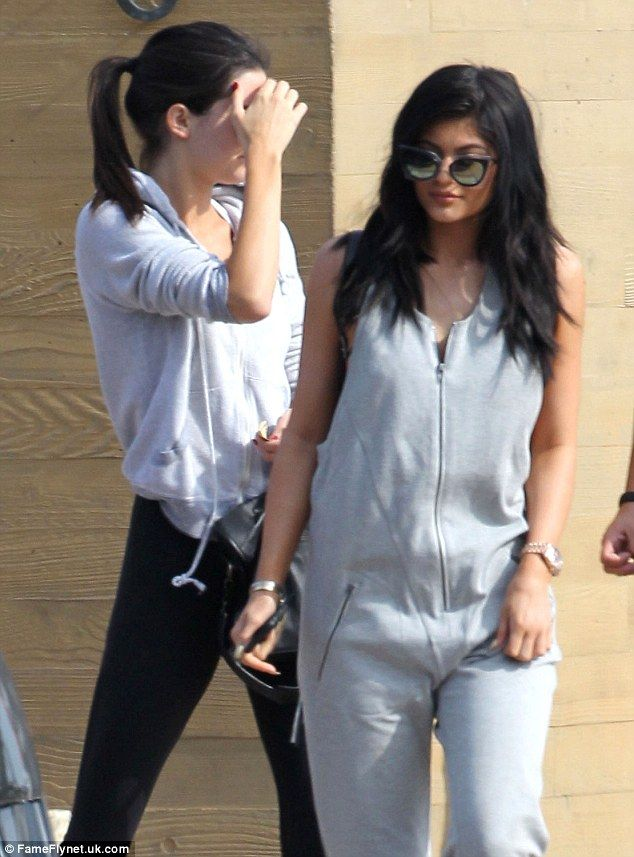 Kendall and Kylie Jenner grab lunch after visiting father Bruce in LA #dailymail