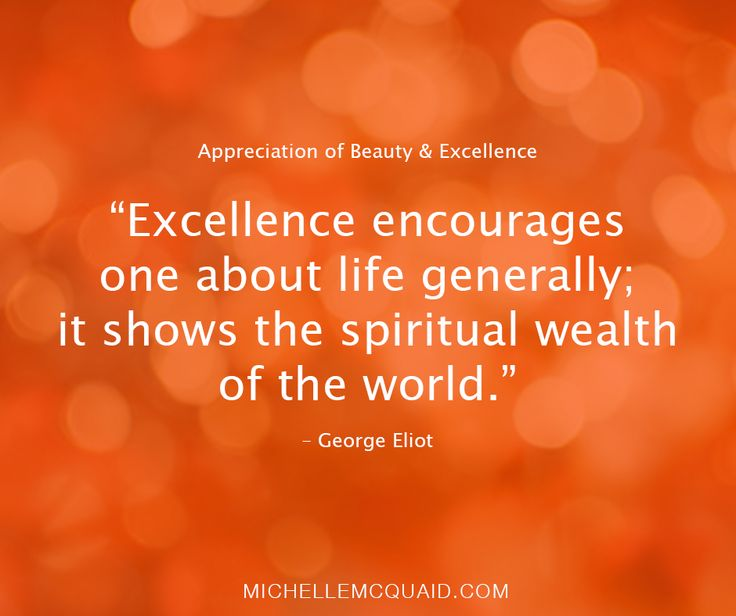 You can develop your appreciation of beauty and excellence by creating a workspace you love. This might include a nice set of stationary, photos of loved ones, a comfortable chair or a decorative pot plant. How do you use your appreciation of beauty and excellence in the workplace? #showupshineandsucceed #strengths #VIAstrengths