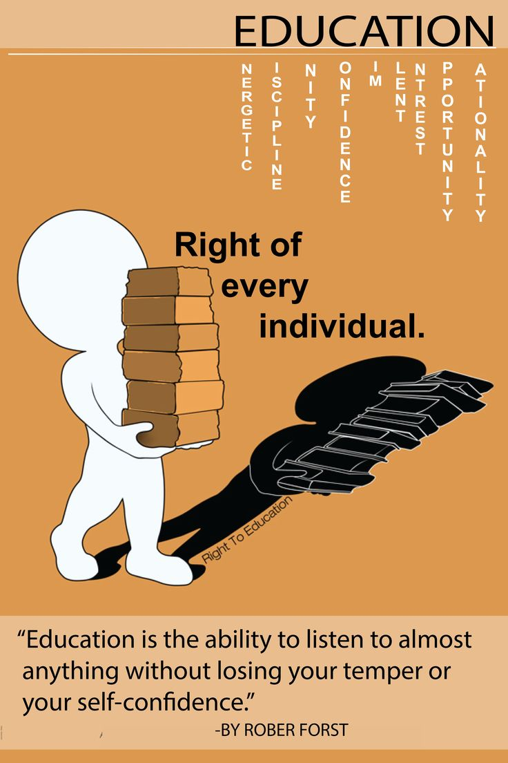EDUCATION, right of every individual.