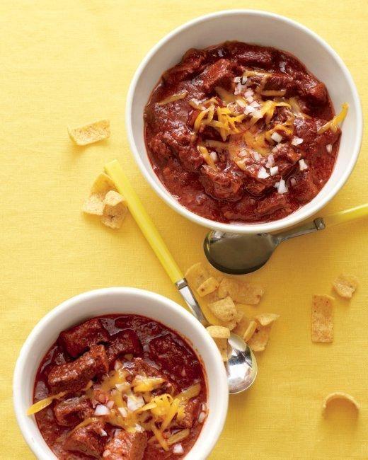 Heather's Texas Red Chili Recipe
