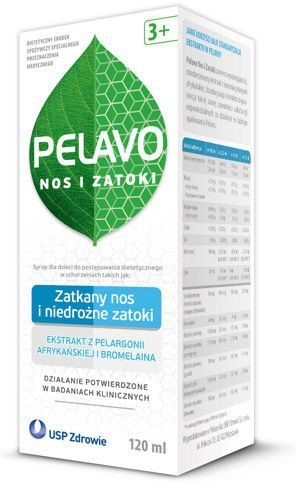 Pelavo syrup nose and sinus 120ml Children from 3 years of age