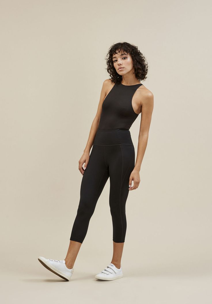 Compression leggings made from recycled water bottles, so you can do good without even breaking a sweat.