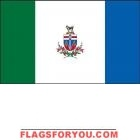 3' x 5' The Yukon High Wind, US Made Flag