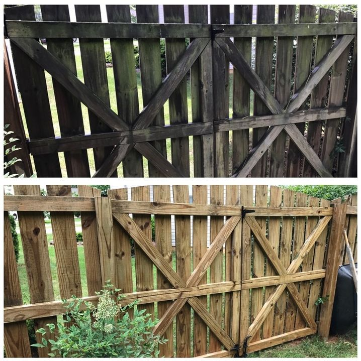 Pressure washing wood fences is great fun and makes them look new and fresh again. Learn More at: http://pressurewashersconnect.com/