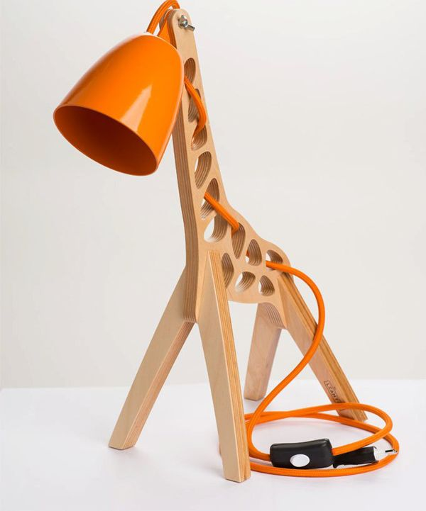 Giraffe Shaped Desk Lamps For Kids Room, Desk Lamps For Kids
