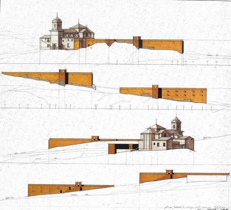 Giorgio Grassi | Reconstrucción del Bellveret | Xativa, España | 1983