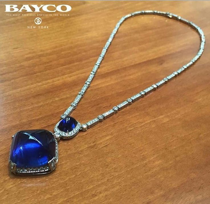 Istana_jewellers... One-of-a-kind creation captures the glory of winter  #istanajewellery #baycojewels  #sugarloafsapphire #sapphire #diamondnecklace