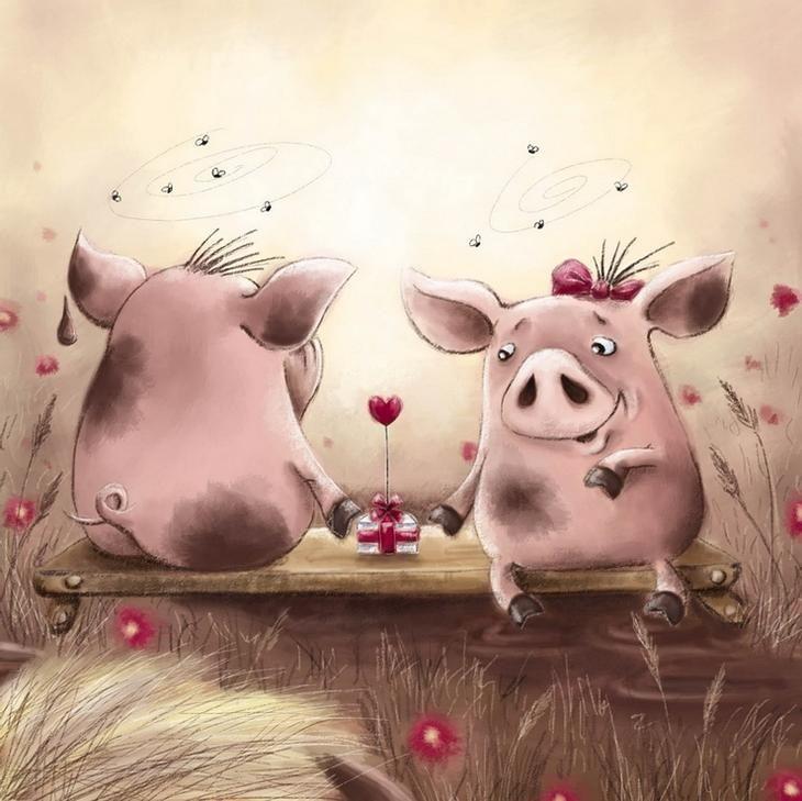 Дарю улыбку!Elena Ellis художник - иллюстратор из Cornwall, Великобритания.