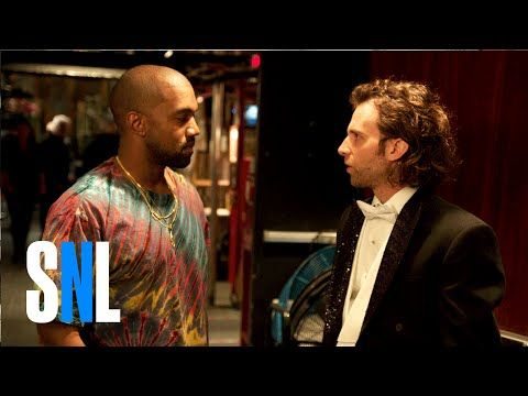 Kanye West has a rap battle with SNL's Kyle Mooney in hilarious skit - Video - http://wp.me/p4MFYY-LHK