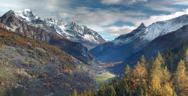Vallée de Rosuel et station de sports d'hiver de Peisey-Vallandry Paradiski