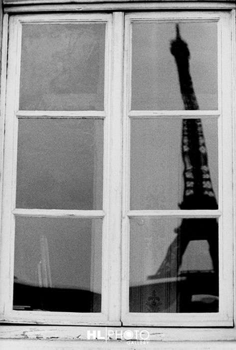 RENATO D'AGOSTIN Paris (Eiffel Tower Reflection)  2002