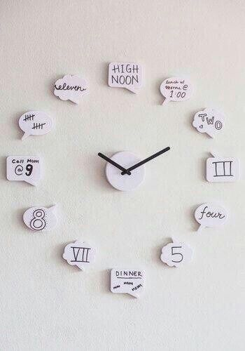Wall clock idea