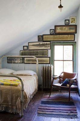 attic cottage bedroom