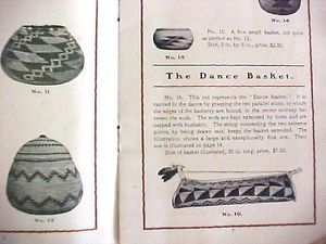 HUPA Hoopa Klamath Tribes Indian Baskets Catalog Brizard Red Head Woodpecker   eBay