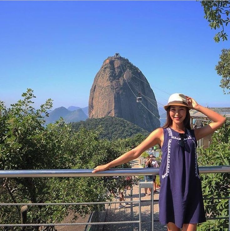 The steep cliffs of Sugarloaf Mountain defines Rio's skyline. Definitely get this shot on your next trip to Brazil! Check out our Photoguide for the exact coordinates- http://sidewalkerdaily.com/photoguide-rio-de-janeiro/ #instatour
