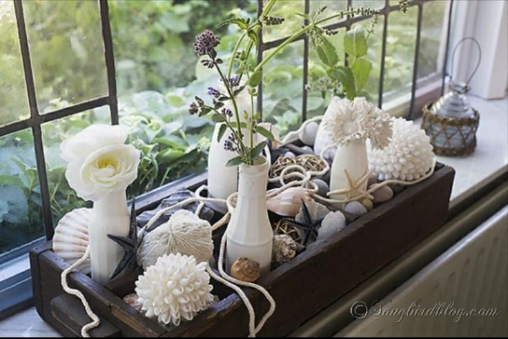 Bay Window Ledge Decoration Idea Wedding Pinterest