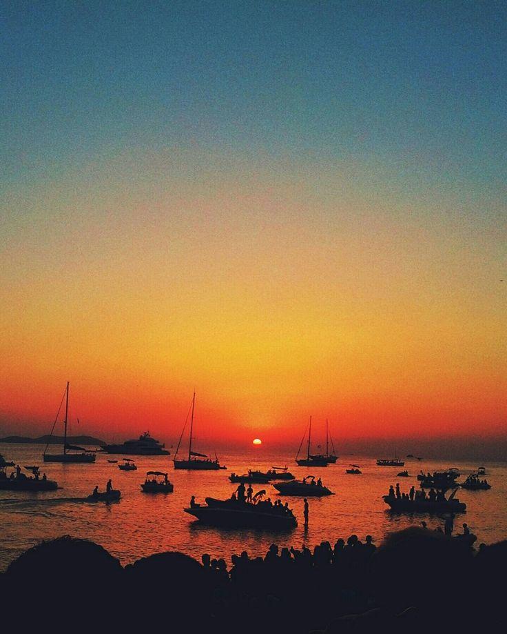 Sunset @ Cafe del mar, Ibiza
