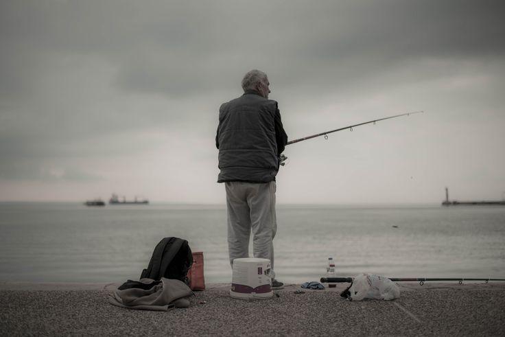 The fisherman by Ioanna Skodra