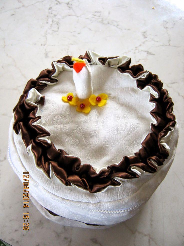szülinapi torta - másképp