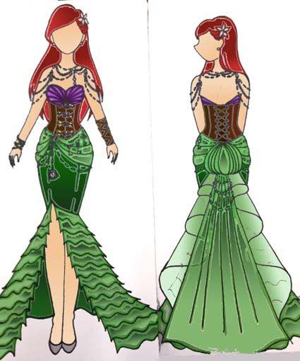 Steampunk Ariel #Steampunk