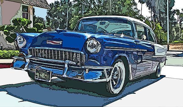 Classic '55 Bel Air Chevy bel air