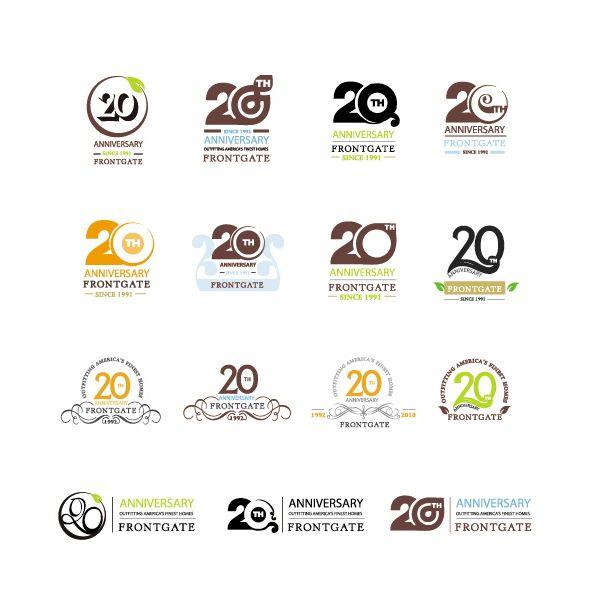Logo Design By Olga Cuzuioc Sinchevici At Coroflot Anniversary Logoanniversary Ideymbol