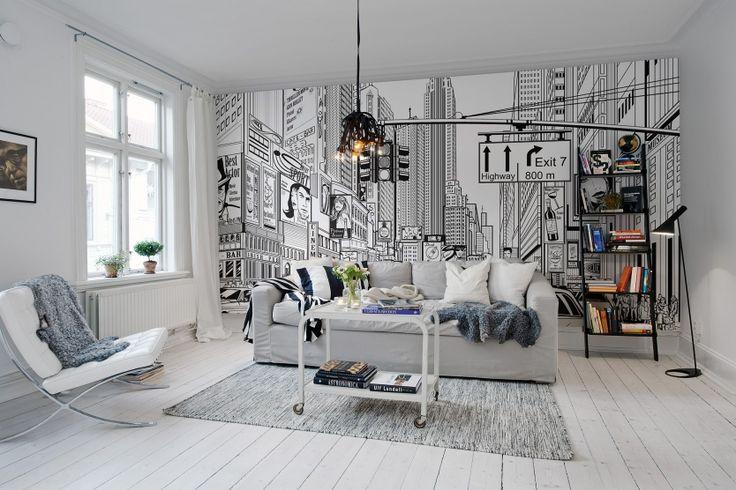 Hey,+look+at+this+wallpaper+from+Rebel+Walls,+Cartoon+City!+#rebelwalls+#wallpaper+#wallmurals