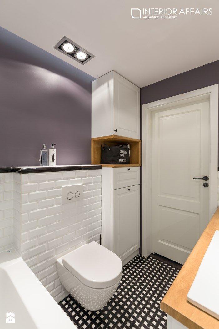 łazienka B&W Forest - zdjęcie od INTERIOR AFFAIRS - Łazienka - Styl Skandynawski - INTERIOR AFFAIRS