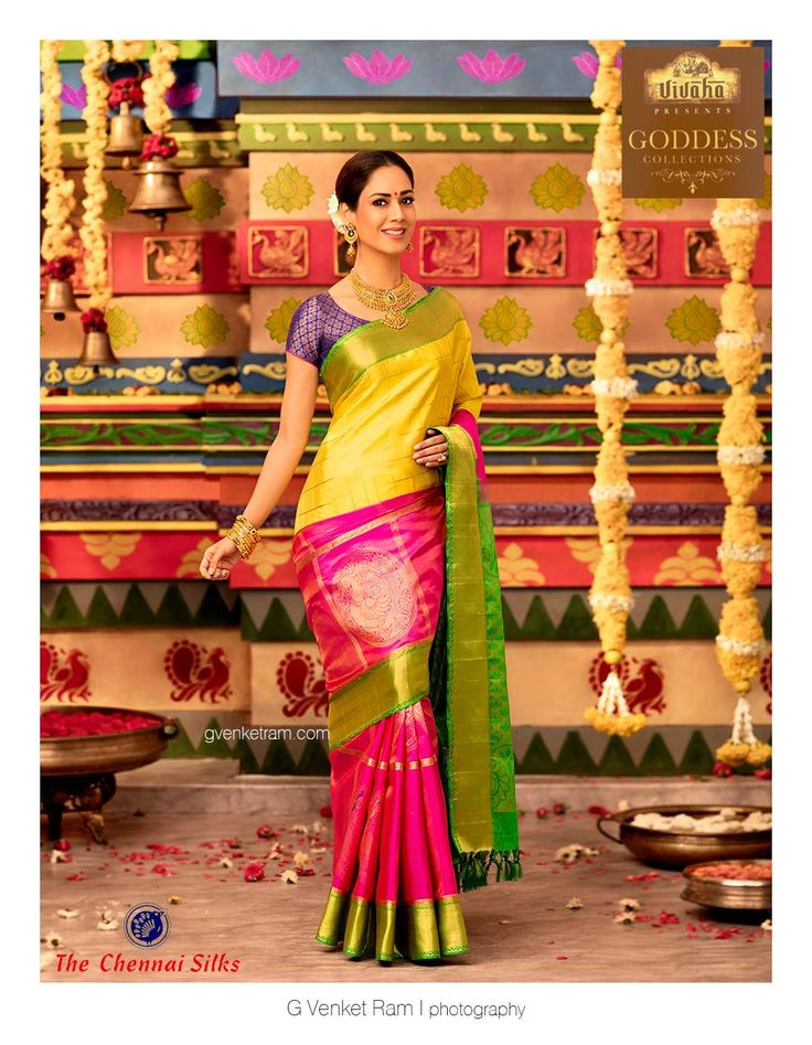 G Venket Ram | Photography | Advertising | Chennai Silks | Silk Saree |  Bridal |