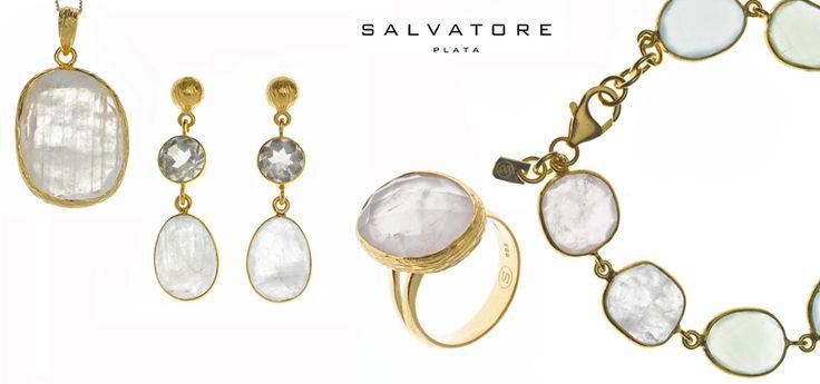 Collar, pendientes, anillo y pulsera DARJEELING