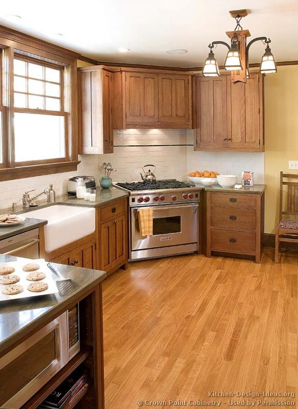 High Quality #Kitchen Idea Of The Day: Craftsman Kitchens. (By Crown Point Cabinetry)