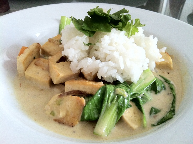 Thai Green Curry with Jasmine Rice, Michael K.