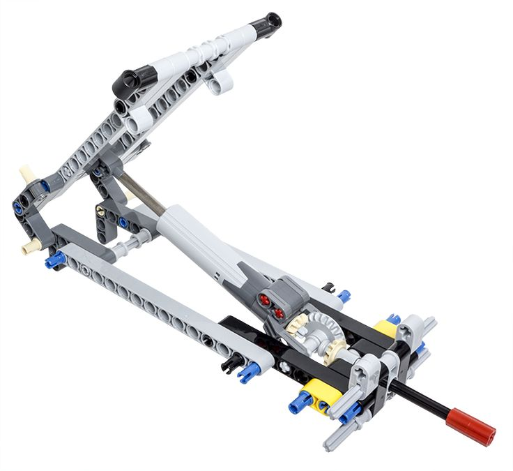 LEGO Technic Building Tip - Tipper Mechanism Using a Linear Actuator - ICHIBAN Toys