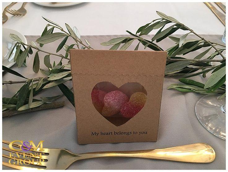 O'Reillys Canungra Valley Vineyards    Wedding Gift Idea    My Heart Belongs to You    Jelly Heart Lolly #weddinggift #WeddingIdea #countrywedding #guest #gift #vineyardwedding #heart #lolly