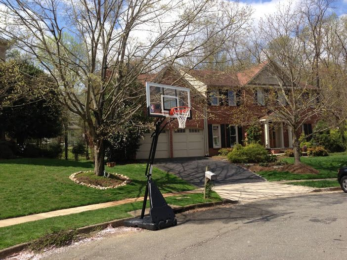 spalding portable basketball hoop assembly instructions