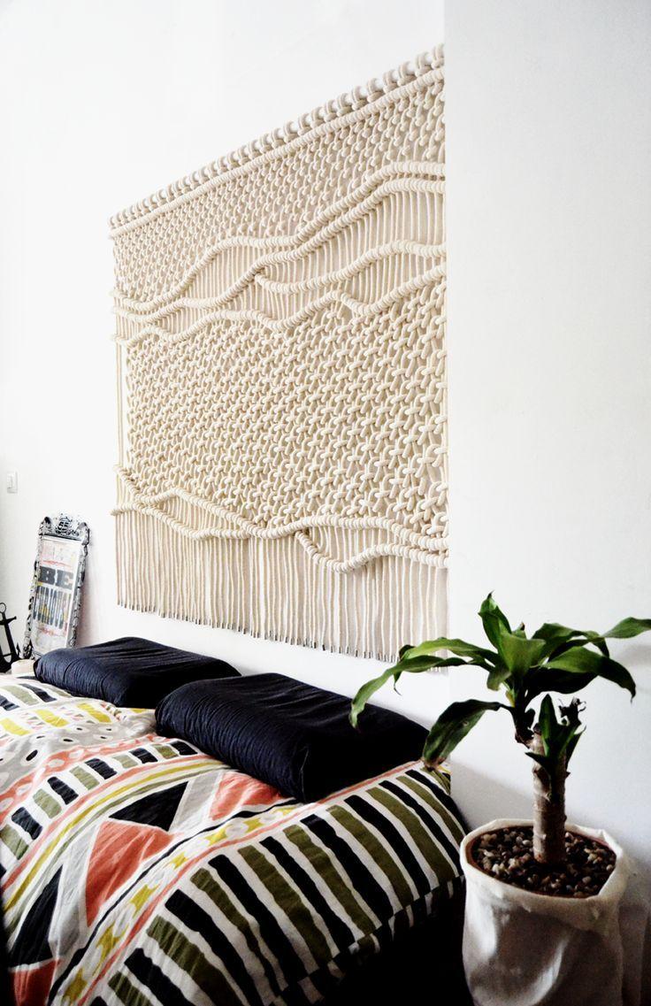 17 mejores ideas sobre tapiz de tela de pared en pinterest - Telas decorativas para paredes ...