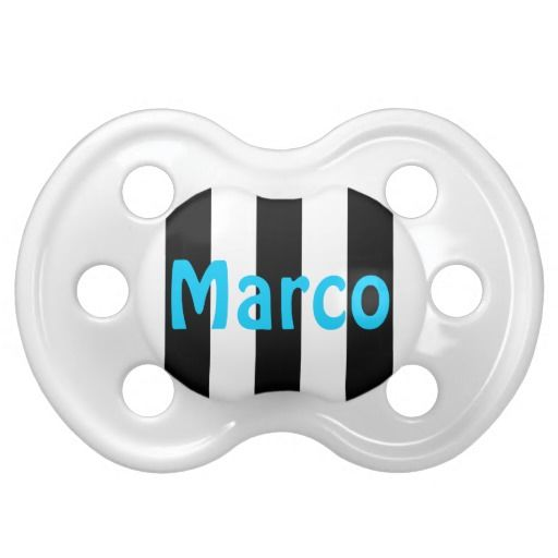 17 best cute baby gifts images on pinterest cute baby gifts black and white stripes name pacifier negle Images