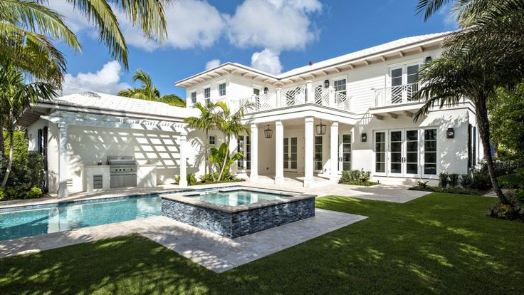 North End spec house built with 'classic Palm Beach style'