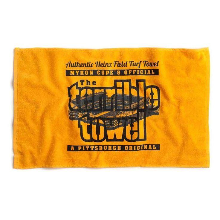 EXCLUSIVE Pittsburgh Steelers Heinz Field Turf Towel