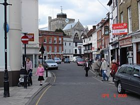Romsey - Romsy Town Center © A.M.Taylor
